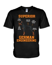 DOBERMANS Superior German Engineering I Gift V-Neck T-Shirt thumbnail