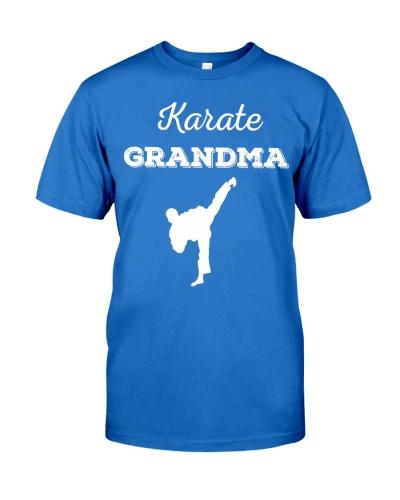 Funny Karate Grandma Tshirt Martial Art