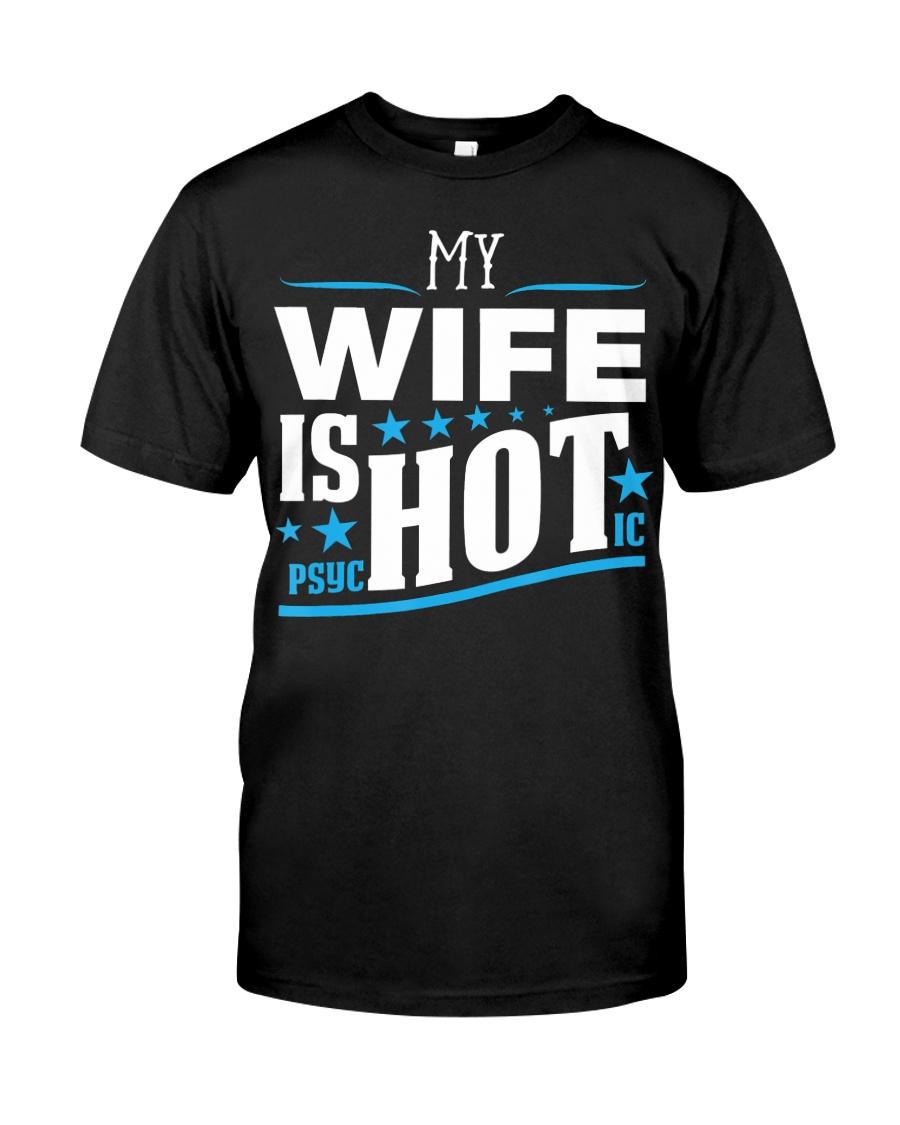 My Wife Has A psycHOTic Husband Funny Sweatshirt