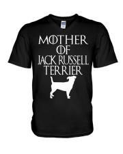 Mother Of Jack Russell Terrier Shirt Mother' V-Neck T-Shirt thumbnail