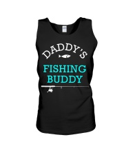 Daddys Fishing Buddy Shirt Cute Kids Gift Unisex Tank thumbnail