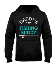 Daddys Fishing Buddy Shirt Cute Kids Gift Hooded Sweatshirt thumbnail