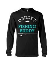 Daddys Fishing Buddy Shirt Cute Kids Gift Long Sleeve Tee thumbnail