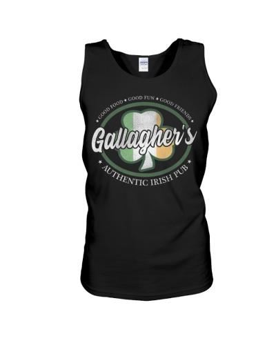 Gallagher's Irish Pub T-Shirt Vintage Iris