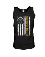 Vintage USA Best Roofer Dad Ever Americ Unisex Tank thumbnail