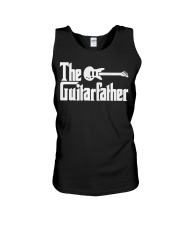 Fathers Day The Guitar-father Musician Guitar Unisex Tank thumbnail