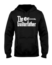 Fathers Day The Guitar-father Musician Guitar Hooded Sweatshirt thumbnail