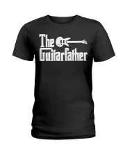 Fathers Day The Guitar-father Musician Guitar Ladies T-Shirt thumbnail