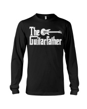 Fathers Day The Guitar-father Musician Guitar Long Sleeve Tee thumbnail