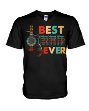 Dad Chords Best Dad Ever Guitar T-Shirt  V-Neck T-Shirt thumbnail