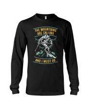 Vintage Ski Shirt - Mountains are calling S Long Sleeve Tee thumbnail
