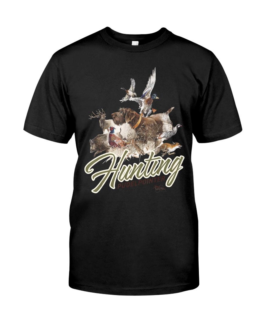 Pudelpointer Hunting Dog Tshirt Classic T-Shirt