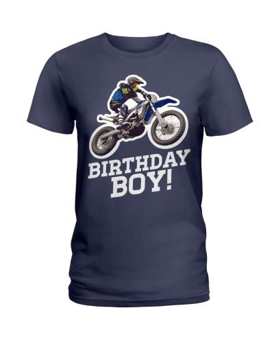 Motocross Birthday Boy T-Shirt