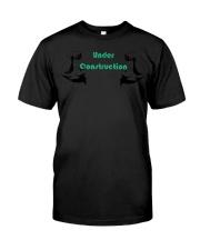 Motivational Body Under Construction Workout  Classic T-Shirt thumbnail