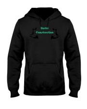 Motivational Body Under Construction Workout  Hooded Sweatshirt thumbnail