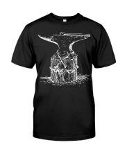 Distressed Vintage Blacksmith Classic T-Shirt front