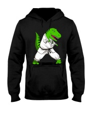T-Rex Dinosaur Karate Ninja M Hooded Sweatshirt thumbnail