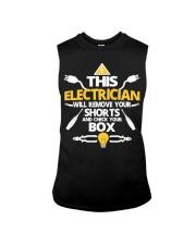 Electrician short job box power shirt Sleeveless Tee thumbnail