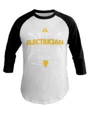 Electrician short job box power shirt Baseball Tee thumbnail