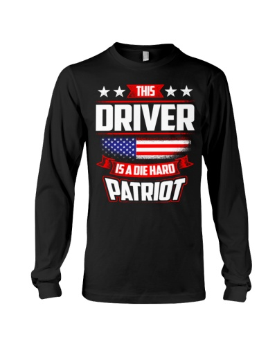 Driver 4th July Independence Day Tshirt