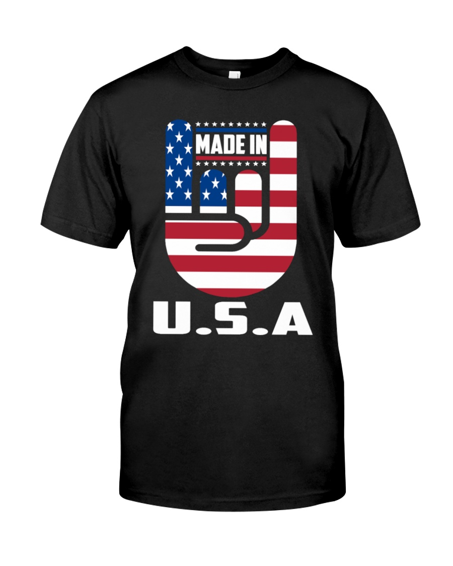 American country 4th July Independence Day Tshirt Classic T-Shirt