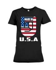 American country 4th July Independence Day Tshirt Premium Fit Ladies Tee thumbnail