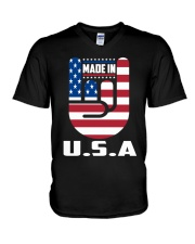 American country 4th July Independence Day Tshirt V-Neck T-Shirt thumbnail