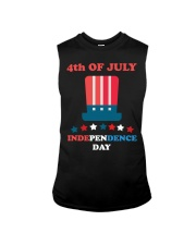 American 4th July Independence Day Tshirt Sleeveless Tee thumbnail