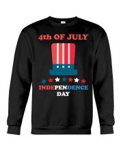 American 4th July Independence Day Tshirt Crewneck Sweatshirt thumbnail