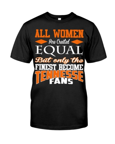 Tennesse fans women equal strong shirt