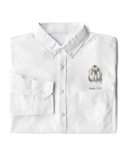 Shih Tzu - Dress Shirt  Dress Shirt garment-embroidery-dressshirt-lifestyle-05