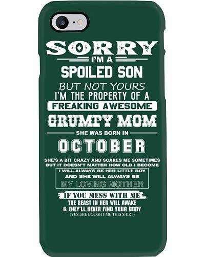 Spoiled Son of Grumpy Mom Born in October