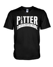 Pitter Patter LetterKenny T-Shirt V-Neck T-Shirt thumbnail