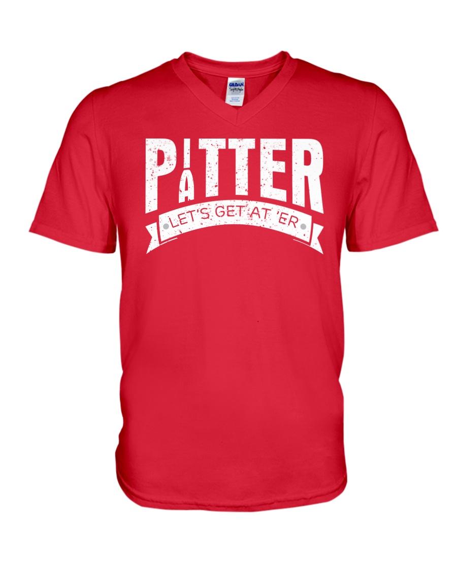 Pitter Patter LetterKenny T-Shirt V-Neck T-Shirt