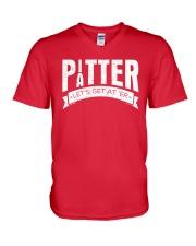Pitter Patter LetterKenny T-Shirt V-Neck T-Shirt front