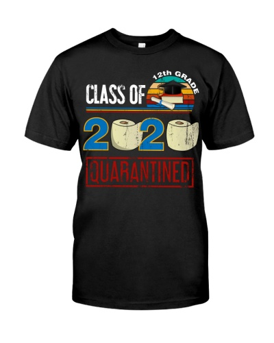 Class Of 2020 12th Grade Quarantined Vintage