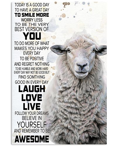 Today Is A Good Day - Sheep