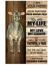 Poster I Am Your - Brown Swiss 11x17 Poster front