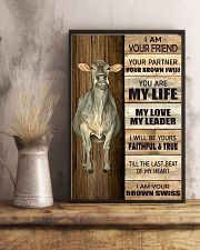 Poster I Am Your - Brown Swiss 11x17 Poster lifestyle-poster-3