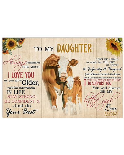 Poster To My Daughter - Simmental