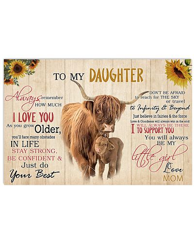 Poster To My Daughter - Highland