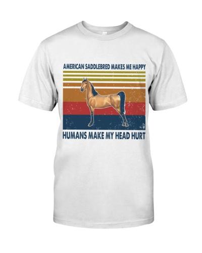 Vintage Make Me Happy - American Saddlebred