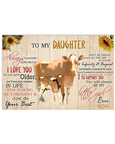 Poster To My Daughter - Guernsey