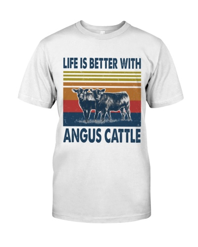 Vintage Life Is Better With - Angus