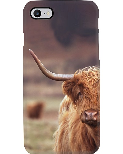 HIGHLAND COW IPHONE VS GALAXY