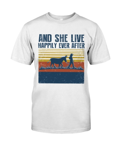 Vintage And She Live Happily - Donkey
