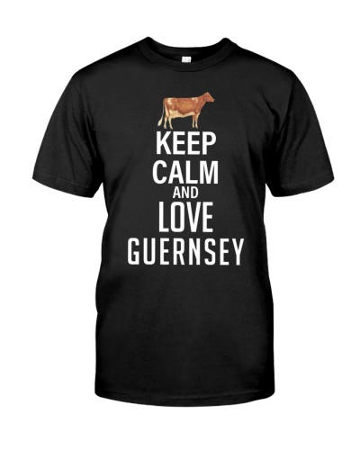 KEEP CALM AND LOVE GUERNSEY