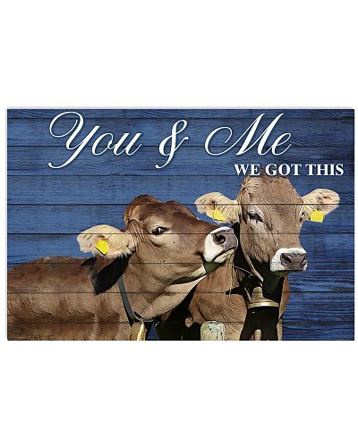 Poster You and Me - Brown Swiss