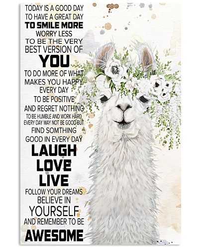 Today Is A Good Day - Llama