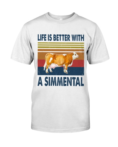 Vintage Life Is Better With - Simmental